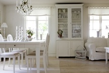 White Furniture and Decorating / by Tricia Ater