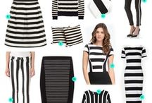 Stripes / Stripes are so bold while always remaining chic.