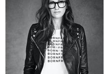"Jenna Lyons / ""Always borrow something from the boys"" -Jenna Lyons, Style Icon #jennalyons #jcrew #style"