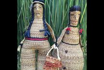 Native / Native dolls and misc. items dealing with Pacific Northwest art / by Gloria Smith
