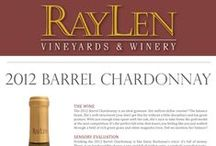 RayLen's White Wines / White wines produced by RayLen Vineyards & Winery in Mocksville, NC.