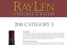 RayLen's Specialty Wines / Reserve and specialty wines produced by RayLen Vineyards & Winery in Mocksville, NC.