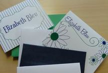 Flat & Folded Note Cards