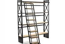 Furniture / Wall Decor - Industrial Shelving / Lockers / Baskets / by Joseph Johnson