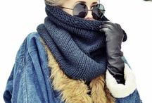 Warm & Fashionable Winter / There are so many ways to stay fashionable in the winter even under layers of coats, scarves and hats.  Here are my favorite Winter Fashion ideas!  Be sure to visit moorea-seal.com for more inspiration.