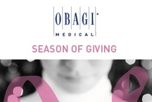 Obagi Season of Giving /   Thank you to everyone who participated by planning to help raise money for the American Cancer Society. Your enthusiasm and spirit of giving has inspired us to donate $15,000 to Making Strides Against Breast Cancer®.  
