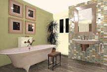 Bathroom Paint Colors / Let the experts at Pratt & Lambert help inspire the color palette for your bathroom retreat. / by Pratt & Lambert Paints