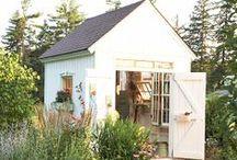 Garden sheds and retreats