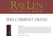 RayLen's Red Wines / Red wines produced by RayLen Vineyards & Winery in Mocksville, NC.