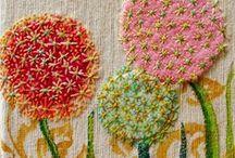 Crafties- Embroidery & Cross Stitch / by Allie Fields