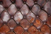Palette: Browns / Cognac, cigars, aged leather, rich velvets, chocolate, mahogany. Deep, restful and masculine.