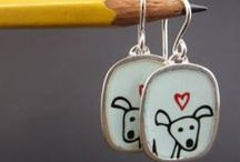 Earrings for Dog Lovers / Great earrings for people who love all things dogs and dog-related!