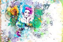 Вдохновение ДК / Работы дизайн команды блога CuteCut (http://cutecutblog.blogspot.ru/)