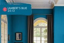 Lose Yourself In Blues / We've got blues for you. Discover your hue of blue within the wide array of Pratt & Lambert's expert collection of sophisticated paint colors.