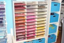 craft room and scrapbook room / by Kay Wolters