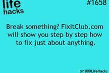 household tips / helpful stuff...