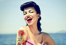 glamour and pretty people / #glamour #retro #pinup #style