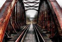 screaming at trains / choo...choo...