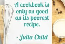 Great cooks! / Cooks who inspire me!