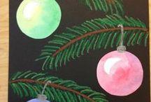 Children's Christmas Art