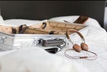 Harman Kardon Soho Headphones / The sleek, new Harman Kardon Soho headphones. Beautiful materials, beautiful sound.