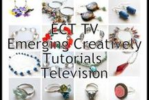 ECT TV (Emerging Creatively Tutorials TV) / Weekly YouTube jewelry making video series - Emerging Creatively Tutorials TV {ECT TV} Learn how to make jewelry and creativity tips. / by Kimberlie Kohler Designs