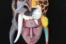 mystical masks / Identity, intention, fascination.