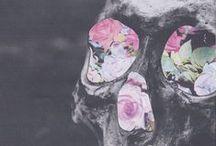 sugar skulls & marigolds /   seize the day  