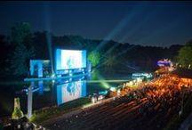 Kino Open-Air NRW / Open Air Kino 2014: Im Ruhrgebiet, in Düsseldorf, Wuppertal und im Rest NRWs gibt es auch diesen Sommer wieder etliche Kinos unter freiem Himmel.