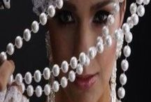 PEARL FASHION / PEARLS / by Joanne Doyle
