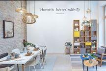 URBANARA Showroom | Berlin / Berlin-based shots of our showroom, pop-up shop and more // Berlin ist das Zuhause von URBANARA. Besuchen Sie uns in Berlin und fühlen Sie die Qualität.