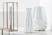 WHITE. / Walking on the white side of life... Let the purest tone of all inspire your next interior makeover.
