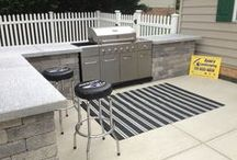 OUTDOOR KITCHENS / BUILT IN GRILLS - HANOVER PA AREA / We provide a vast variety of outdoor living spaces, custom kitchens, built in bars, built in grills, seating areas, & more to fit your unique lifestyle.