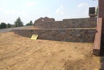 Block Retaining Walls Hanover, Pa... Ryan's Landscaping / Hanover's premiere retaining wall contractor... Ryan's Landscaping  / by RYAN'S LANDSCAPING