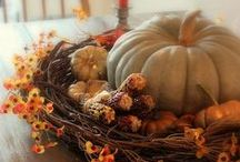 HOLIDAYS..THANKSGIVING/FALL / by Joanne Doyle