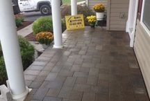 Hanover Architectural Products Pavers Installations / All kinds of various Hanover Architectural Products applications installed ny Ryan's Landscaping in the Hanover area... Trust the leader when it comes to your hardscape installations.  / by RYAN'S LANDSCAPING