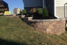 Front Yard Landscape & Hardscape Ideas Hanover, Pa area