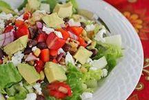 Salads / by Stephanie Kerr