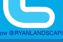 Social Media for Ryan's Landscaping  / Follow Ryan's Landscaping on our social media: Twitter, Facebook, YouTube, Instagram, Google Plus, LinkedIn, Flickr, Houzz, Tumblr, Tout...