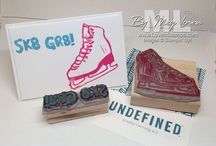 Undefined - inspiration  / Make your own rubber stamps with the #undefined kit from #stampinup
