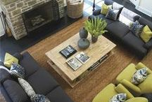 Living & Family Room / by Charei Mace
