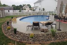 Hanover poolscape installations - Ryan's Landscaping / Various poolscapes throughout the Hanover, Pa area by Ryan's Landscaping.