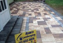 Hanover Outdoor Living Patio Hardscape / When you're serious about starting your paver project, look no further then Ryan's Landscaping. We are York County Area's preferred paver - hardscape contractor. Our hard work, attention to detail fosters success right from the beginning. Give us a call today @ 717-632-4074 or contact us online @ www.ryanslandscaping.com/contact