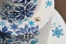 A Winter Wedding / Inspiration for the perfect frozen Winter wedding wrapped in snow, snowflakes, frost, and other Wintertime elements mostly in white, silver, gray, turquoise, and blue, and other Winter inspired designs and colors.