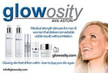 "Glowosity - Ava Aston / Medical grade skincare that delivers remarkable visible results without irritation. The result - healthy glowing skin. The very same products I've used on my skin for over 10 yrs. causing random strangers in public to stop and ask about that ""Glow"".    Cutting edge skincare formulations for Men and Women of all skin types that deliver results, not broken promises. So what are you waiting for? Try it for yourself, and love your skin again.  www.glowosity.com"