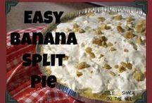 Sweet Treats-No Bake / No baking required!