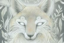 Animal Totems / The Fox and The Wolf