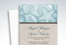 Reception Only Invitations / Reception Only Invitations (post wedding invitations) are used when a couple gets married in a private ceremony, elopes, or has a destination wedding, and only invites their guests to the post wedding reception celebration.