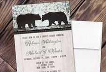 Couples Shower Invitations / A collection of Couples Shower Invitations for couples that want to celebrate their wedding shower together as a couple.