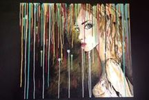 My Paintings / Paintings by Monica Jones using watercolour and acrylics.